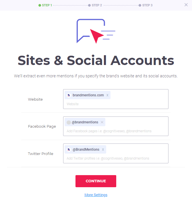Sites & Social Accounts